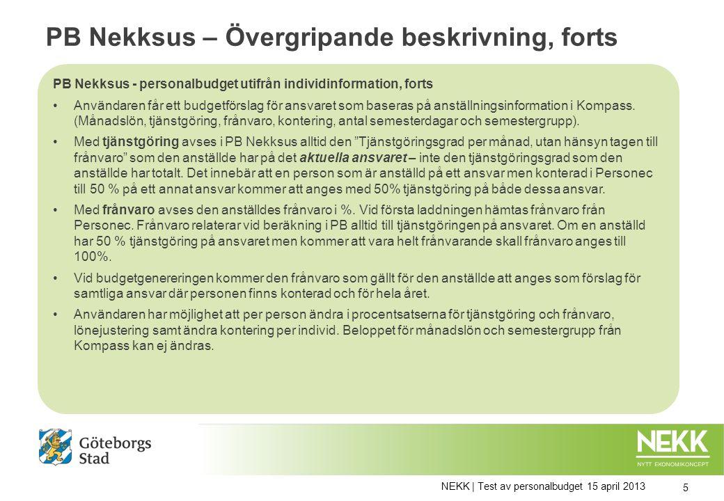 Index för periodisering av personalbudget För att hantera intjänande av ferie och uttag av semester och ferie används olika index.