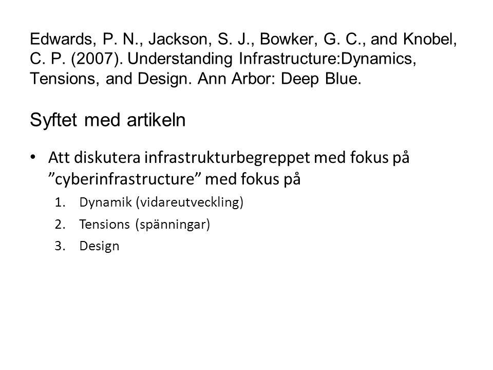 Vad är en cyberinfrastructure.