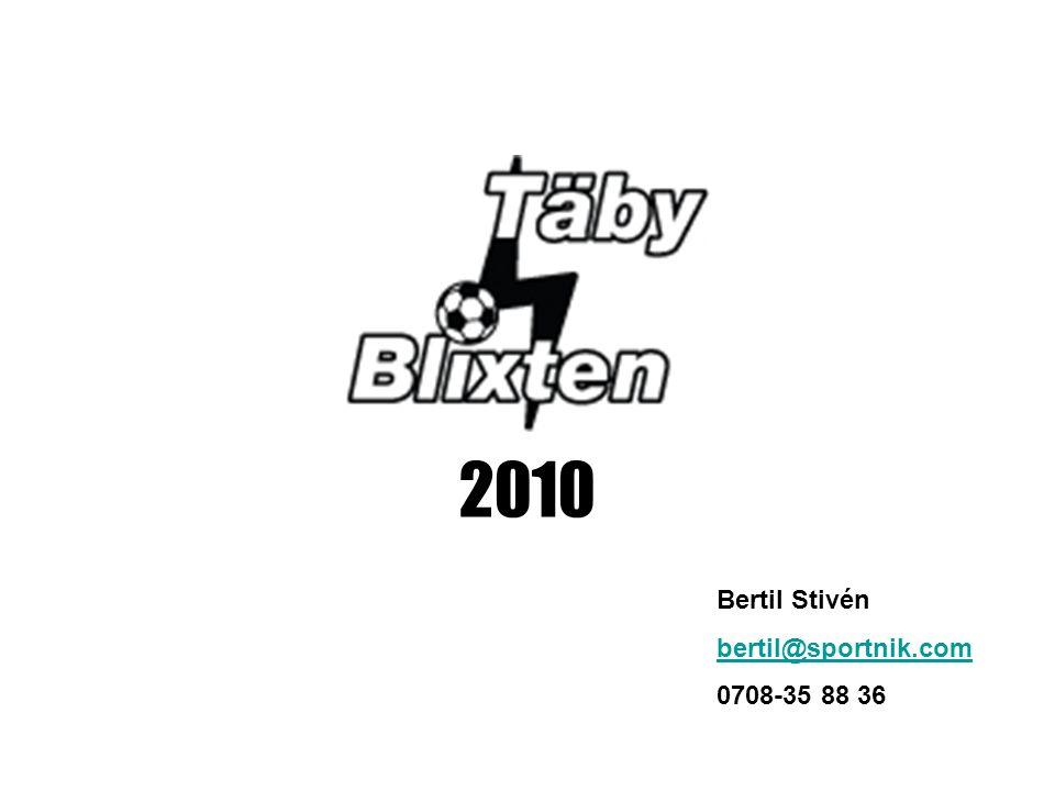 2010 Bertil Stivén bertil@sportnik.com 0708-35 88 36