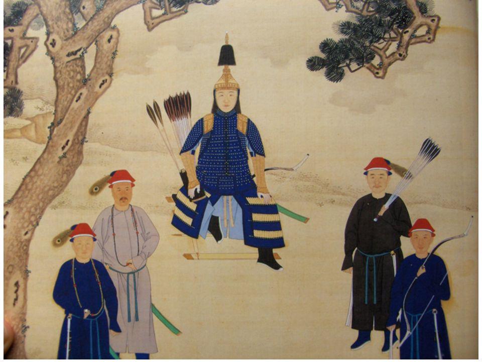 Kangxi-perioden 1662-1722: Försoningspolitik gentemot den han- kinesiska eliten Samtal mellan kejsaren och företrädare för han- kinesisk elit om hur Qing-dynastin ska kunna vara behjälplig i sammanställningen av Ming-dynastins historia Resulterar i Boxue Hongru 博学鸿儒 1679 Fler projekt som engagerar: Kangxi Zidian; Gujin tushu jicheng; sammanställningar av kom.