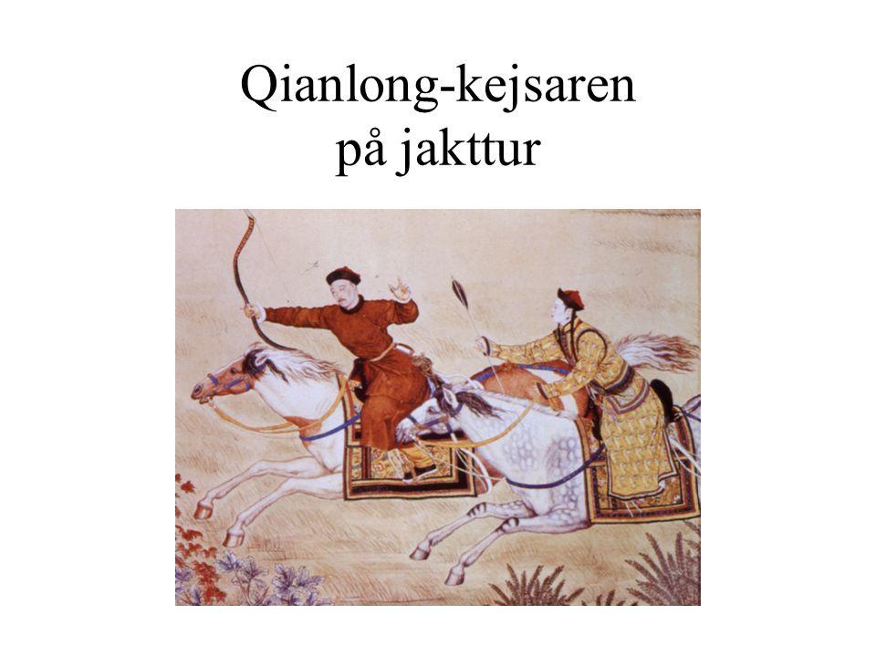 Yongzheng-kejsaren som mongolisk aristokrat