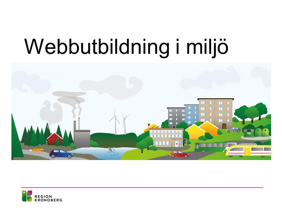 Webbutbildning i miljö