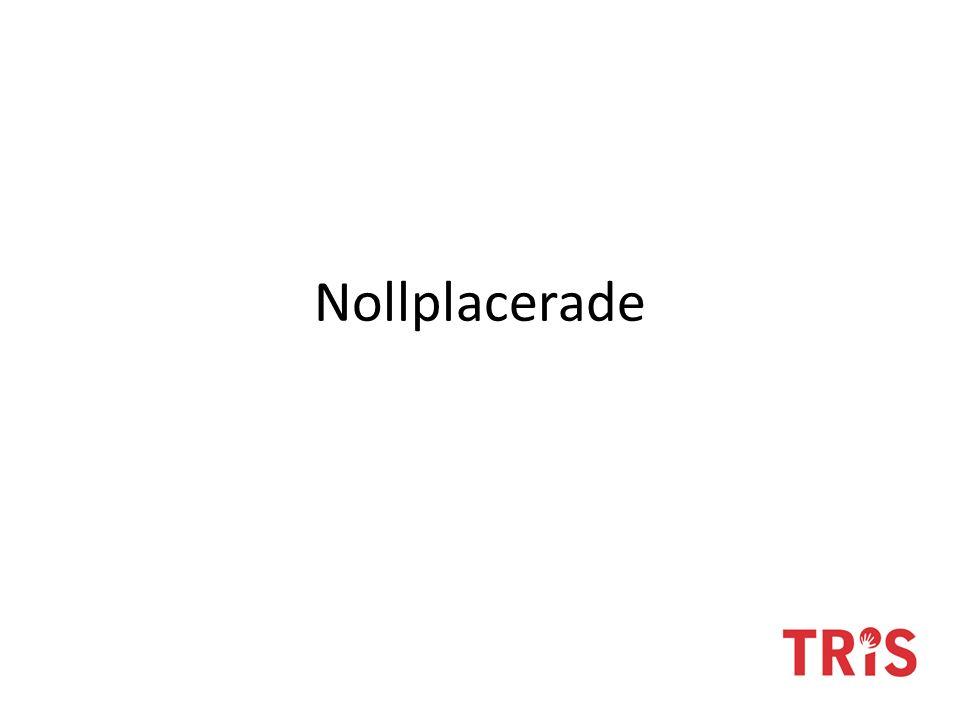 Nollplacerade