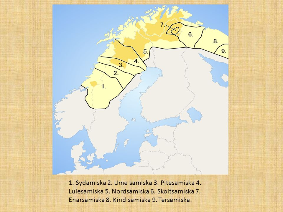 Hur många talar språket idag i Sverige/världen Samiska är ett urspråk som talas i sameland, dem nordligaste delarna av Sverige, Norge, Finland och den ryska Kolahalvön.