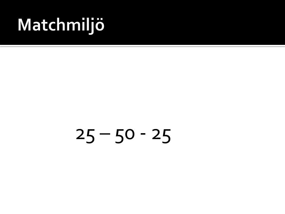 25 – 50 - 25