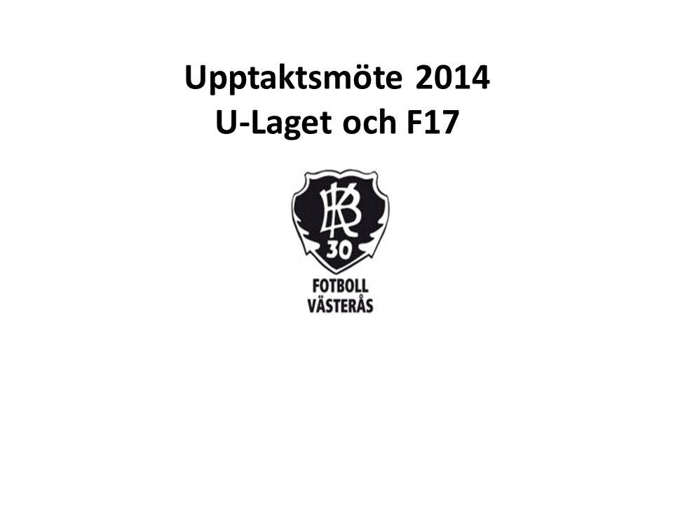 Upptaktsmöte 2014 U-Laget och F17
