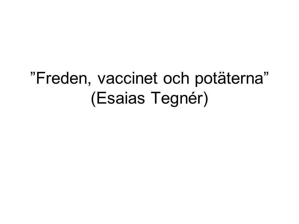 Räcker maten.kanske… År 1800 krävdes 70 % av Sveriges befolkning för att föda 5 milj.