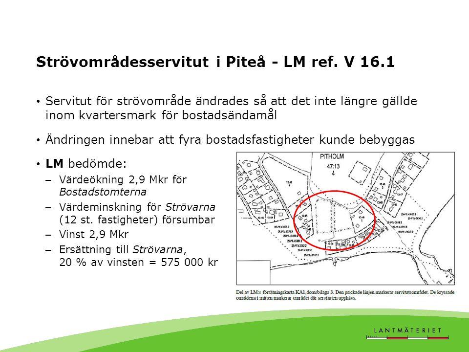 Strövområdesservitut i Piteå - LM ref.