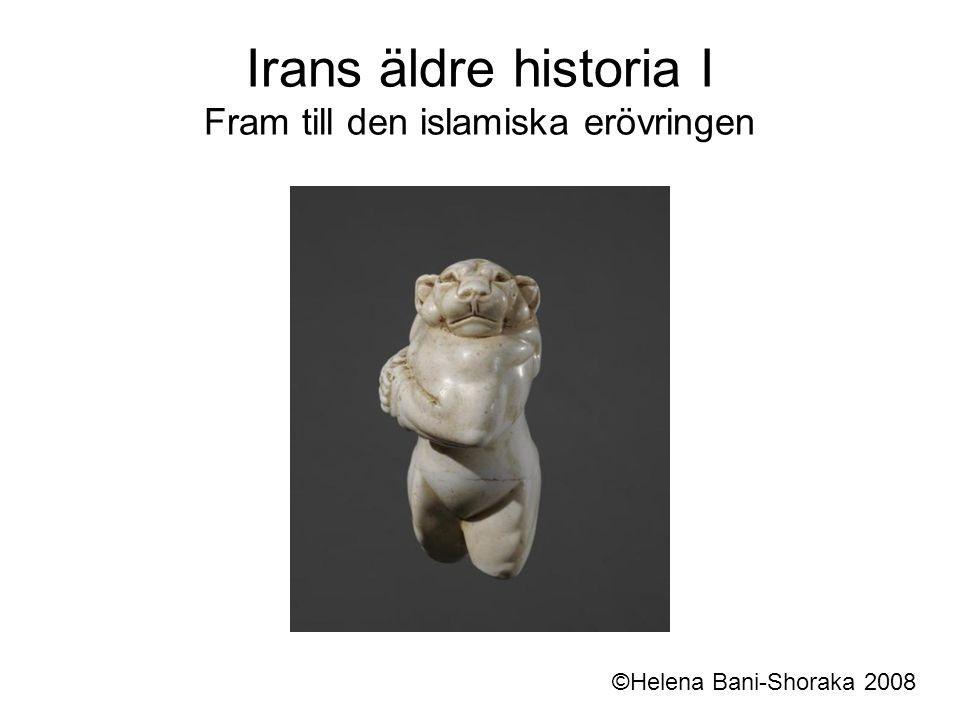 Det sasanidiska rikets sönderfall Under 200- och 300-talen e.kr.