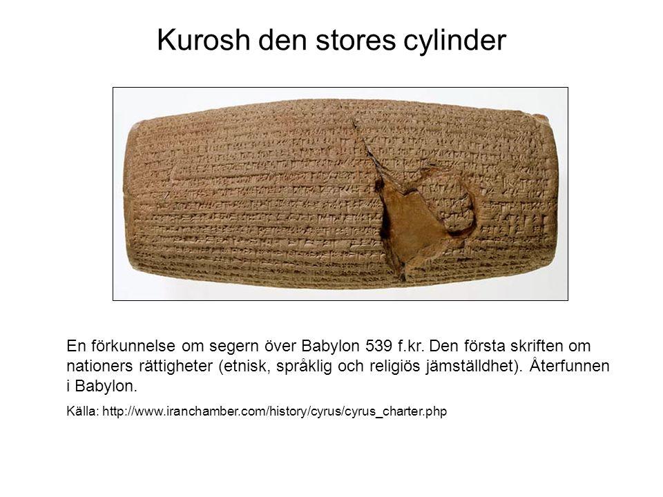 En stenrelief vid Naqsh-e Rostam som visar Shapur I:s triumf över den romerske konungen Valerian och Filip Araben Källa: http://www.iranchamber.com/history/sassanids/sassanids.php