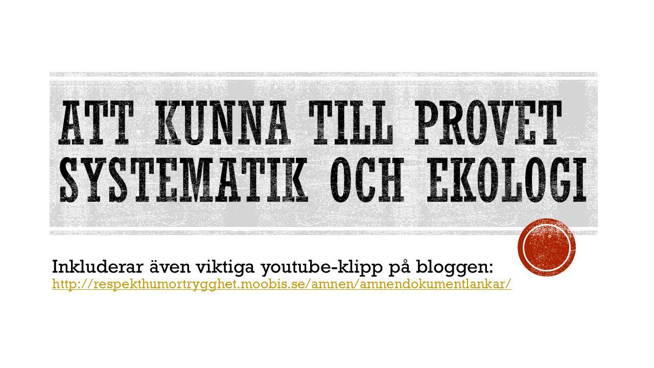 Inkluderar även viktiga youtube-klipp på bloggen: http://respekthumortrygghet.moobis.se/amnen/amnendokumentlankar/ http://respekthumortrygghet.moobis.se/amnen/amnendokumentlankar/