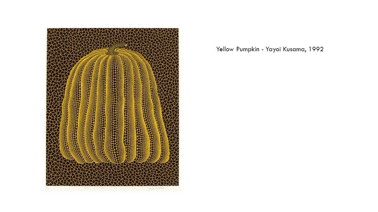 Yellow Pumpkin - Yayoi Kusama, 1992