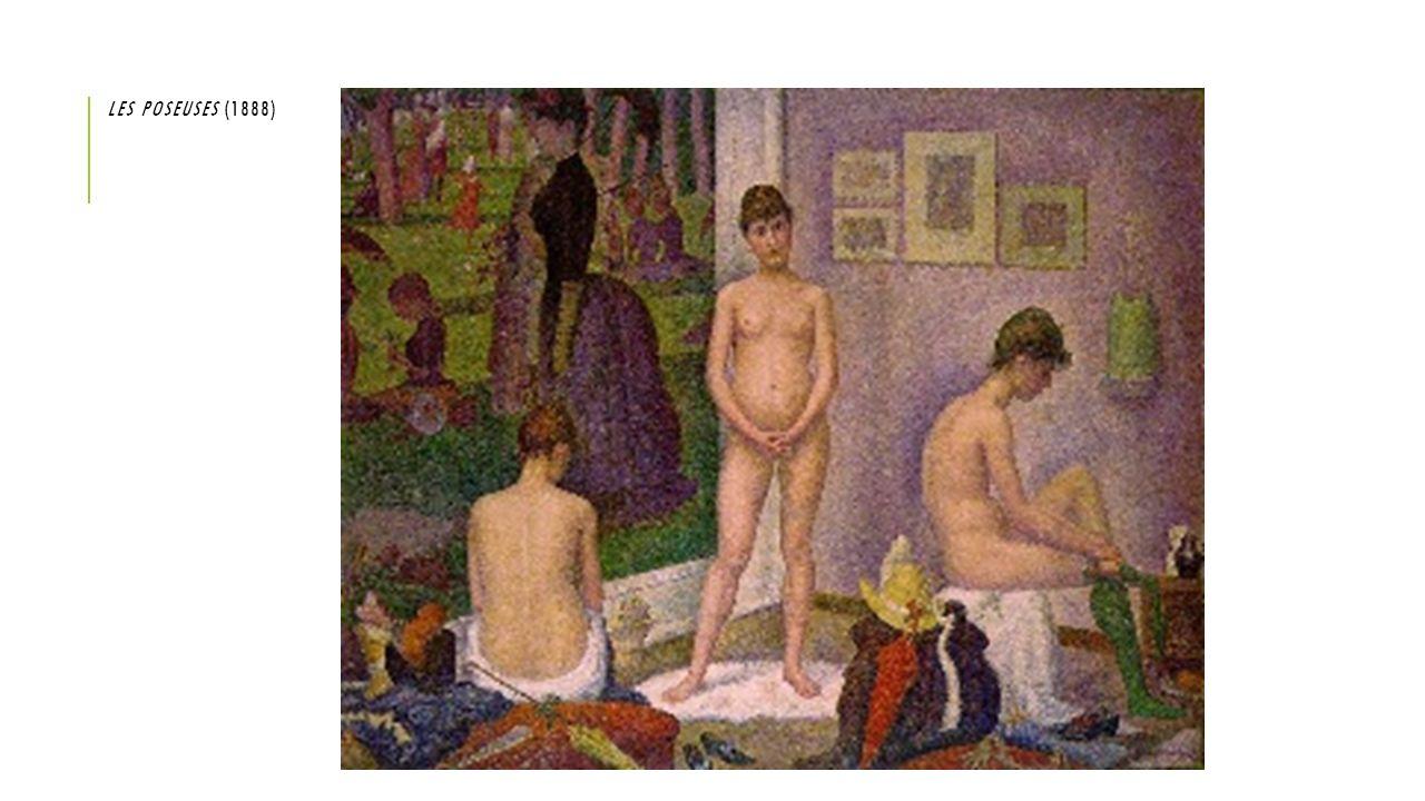 LES POSEUSES (1888)