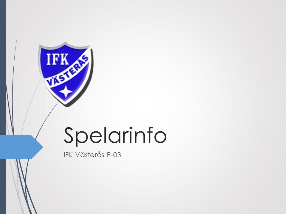 Spelarinfo IFK Västerås P-03