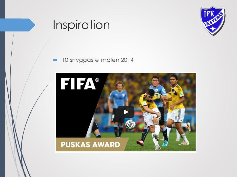Inspiration  10 snyggaste målen 2014