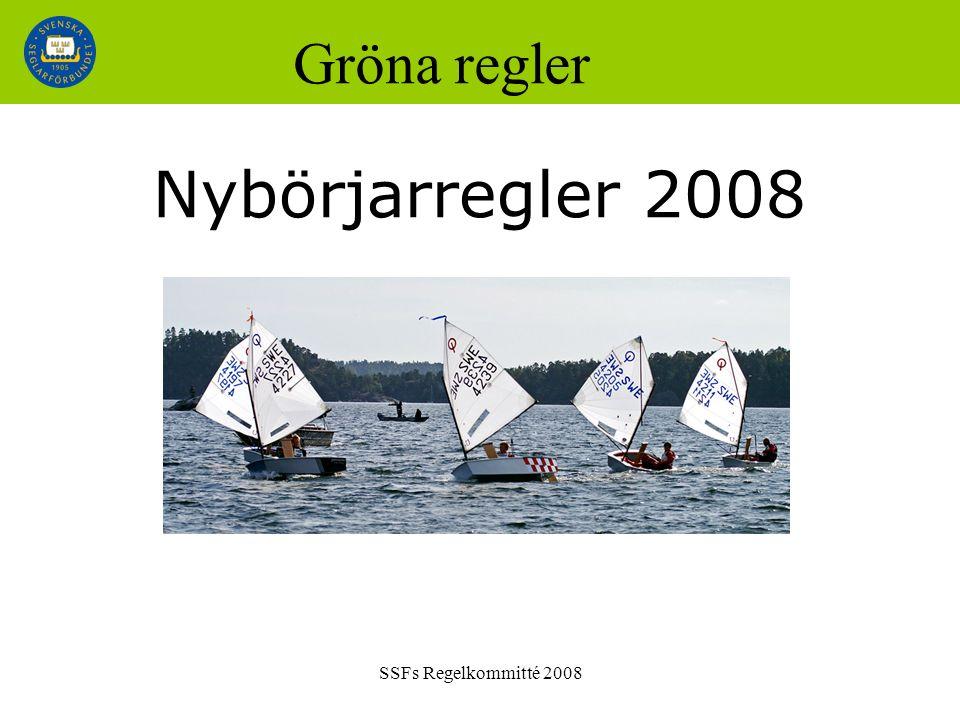 SSFs Regelkommitté 2008 Gröna regler Nybörjarregler 2008
