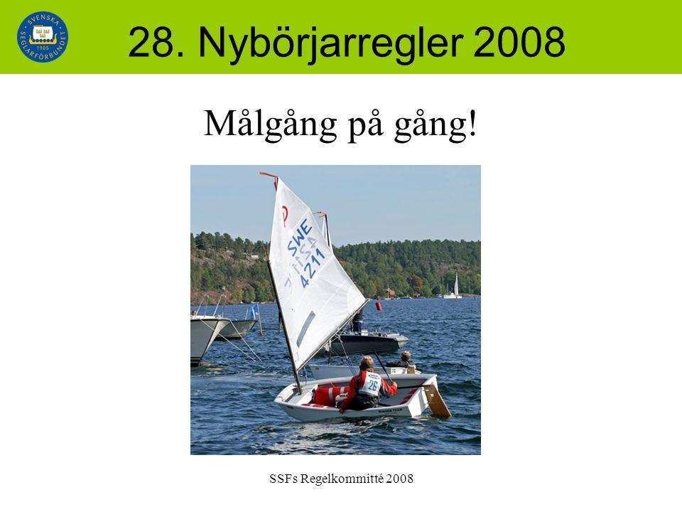 SSFs Regelkommitté 2008 28. Nybörjarregler 2008 Målgång på gång!