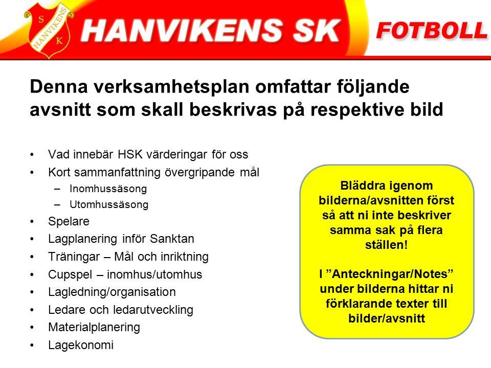 Vad innebär HSK Värderingar för oss.