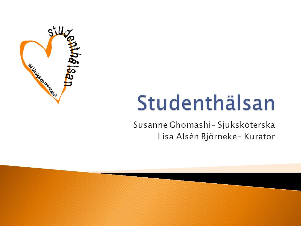 Susanne Ghomashi- Sjuksköterska Lisa Alsén Björneke- Kurator