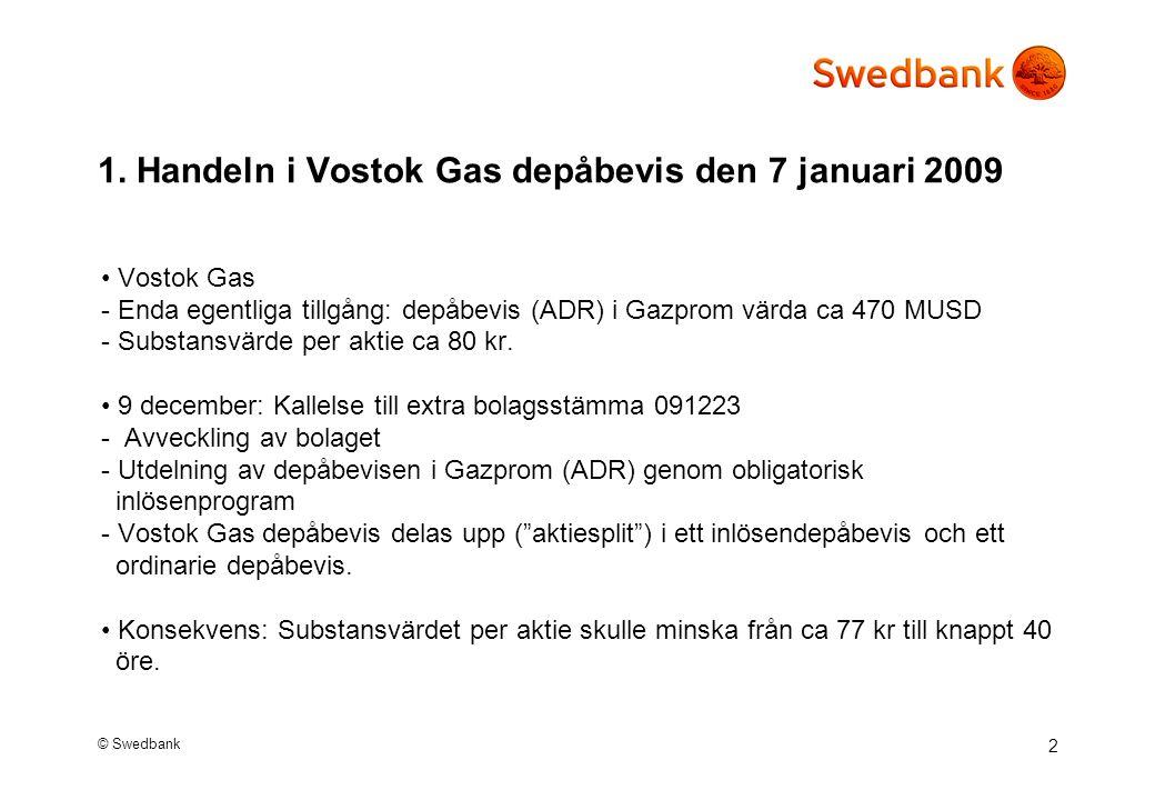 © Swedbank 2 1.