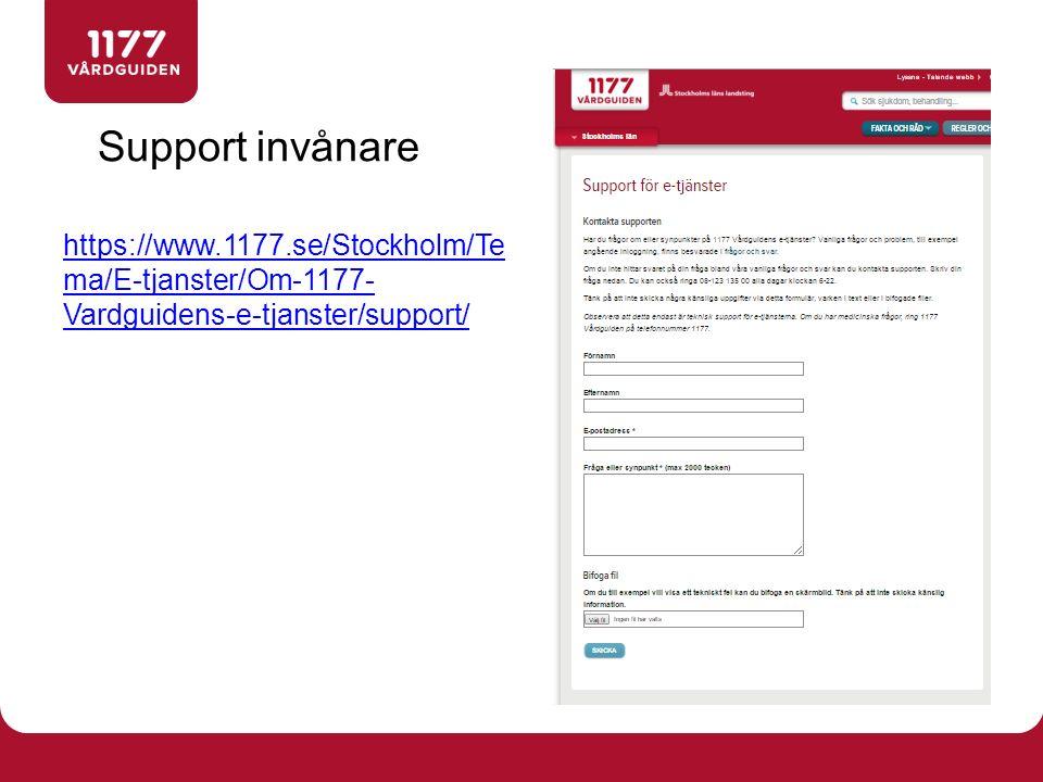 http://www.1177.se/Stockholm/Tema/E-tjanster/ Information till invånare