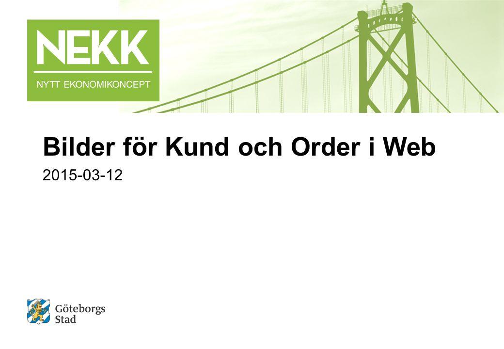 Bilder för Kund och Order i Web 2015-03-12