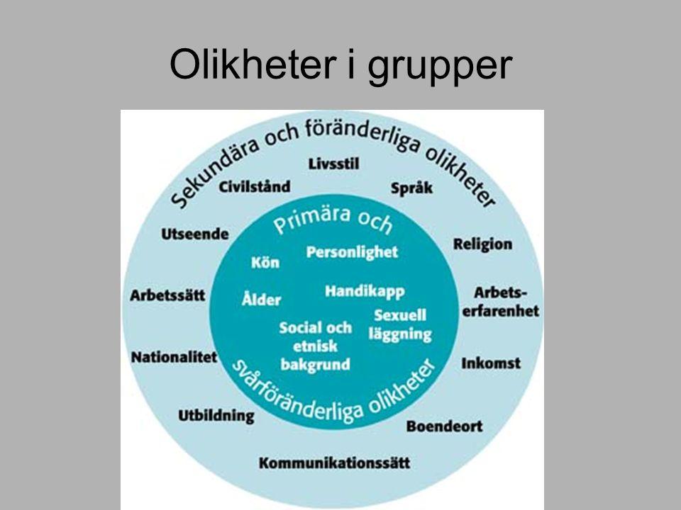Olikheter i grupper