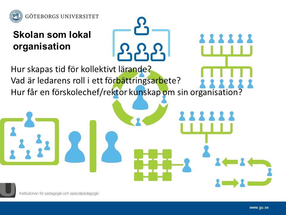 www.gu.se Det formella ledarskapet Vilka ledarstilar har du själv mött.
