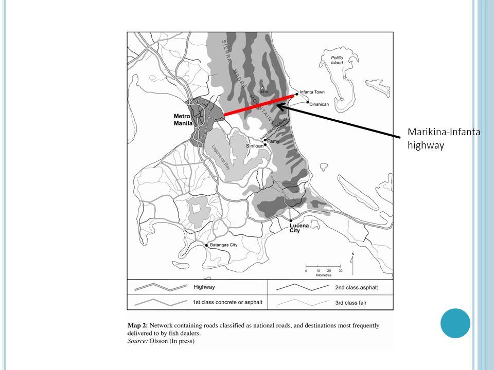 Marikina-Infanta highway