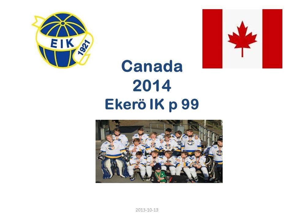 Canada 2014 Ekerö IK p 99 2013-10-13