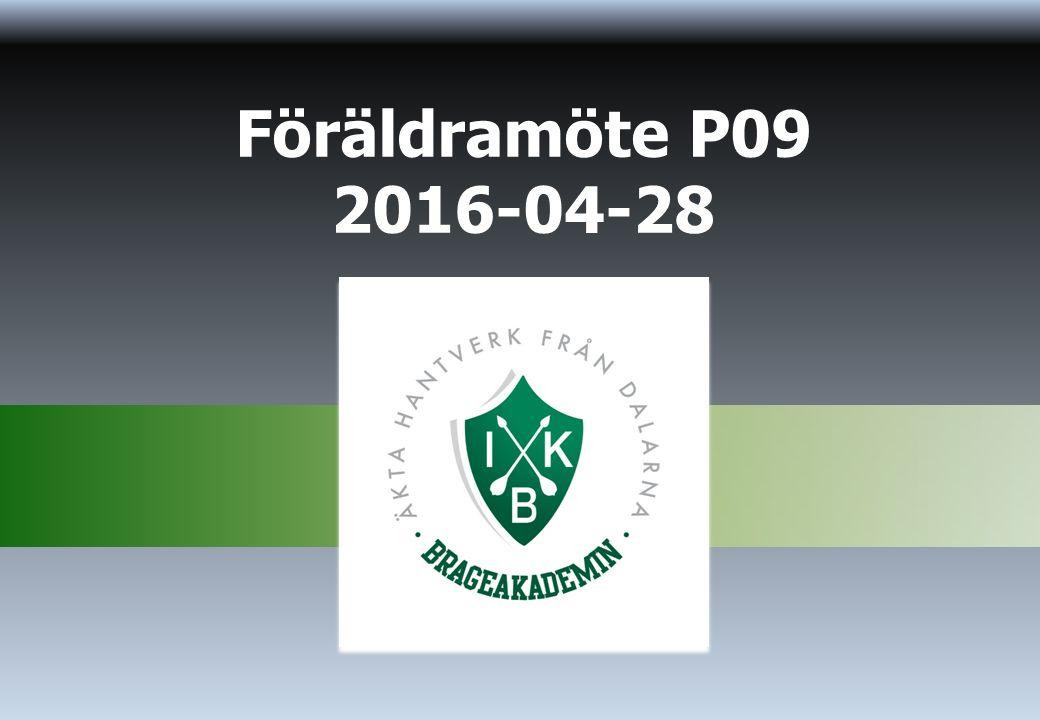 Föräldramöte P09 2016-04-28