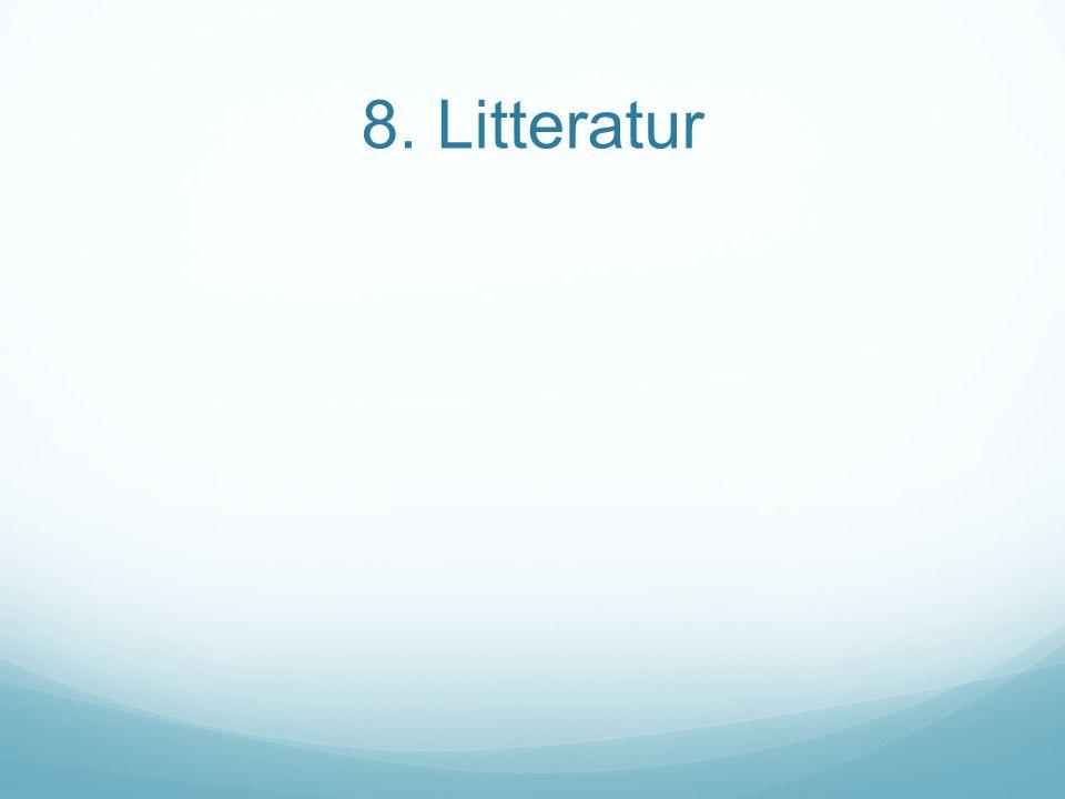 8. Litteratur