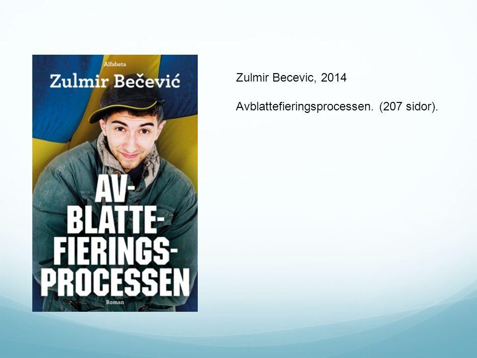 Zulmir Becevic, 2014 Avblattefieringsprocessen. (207 sidor).