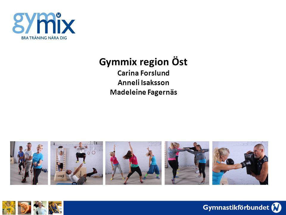 Gymmix region Öst Carina Forslund Anneli Isaksson Madeleine Fagernäs