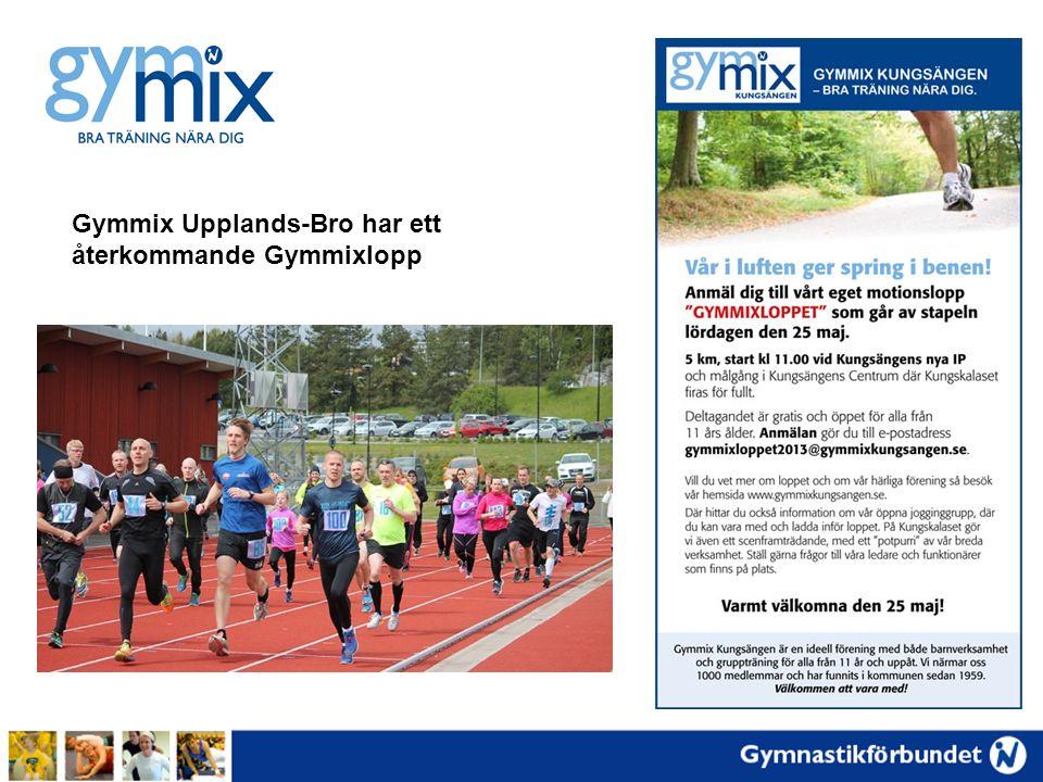 Gymmix Upplands-Bro har ett återkommande Gymmixlopp
