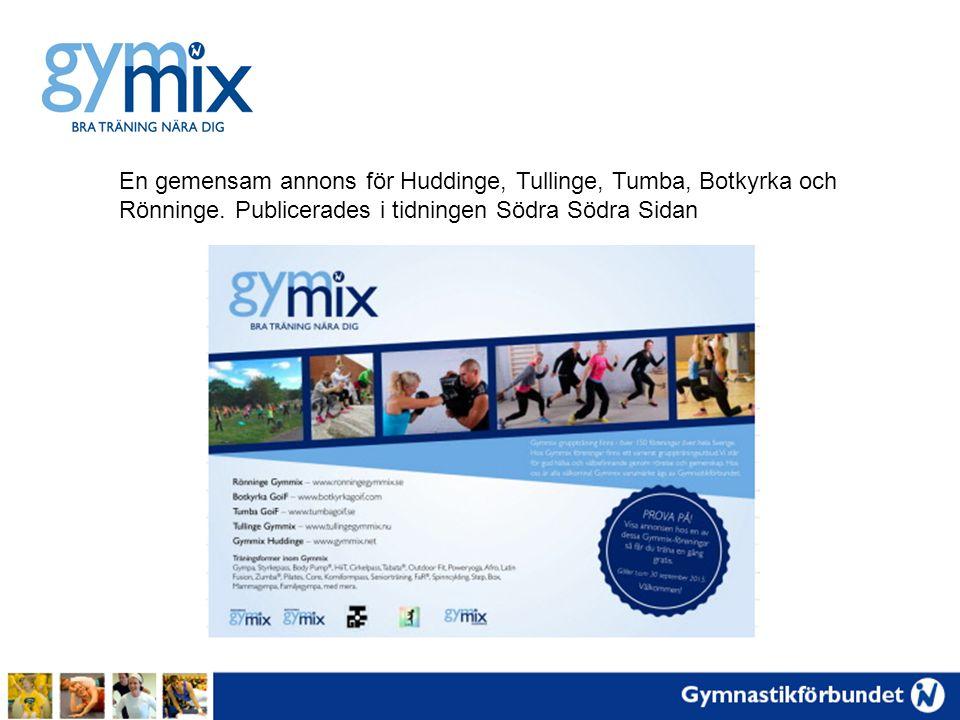 En gemensam annons för Huddinge, Tullinge, Tumba, Botkyrka och Rönninge.