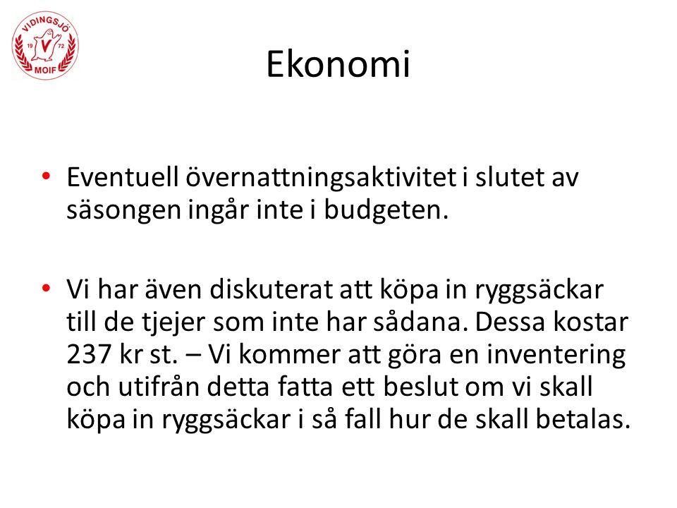 Övrigt Landslagets fotbollsskola – Frågan tas upp på klubbens styrelsemöte 12e april.