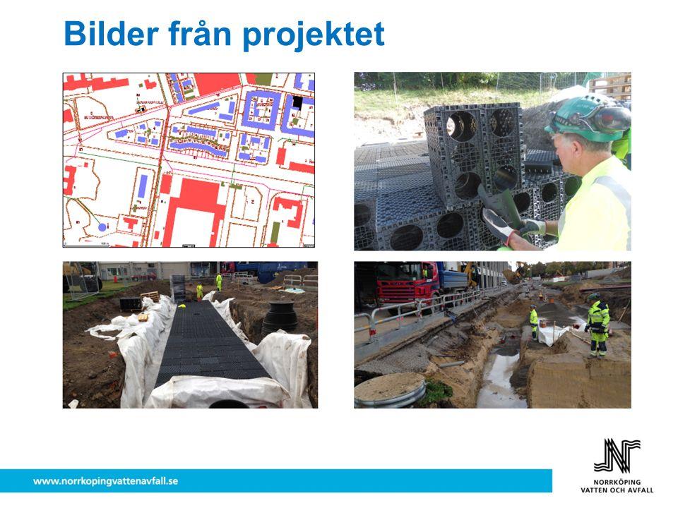 Bilder från projektet - dagvattenkassetter