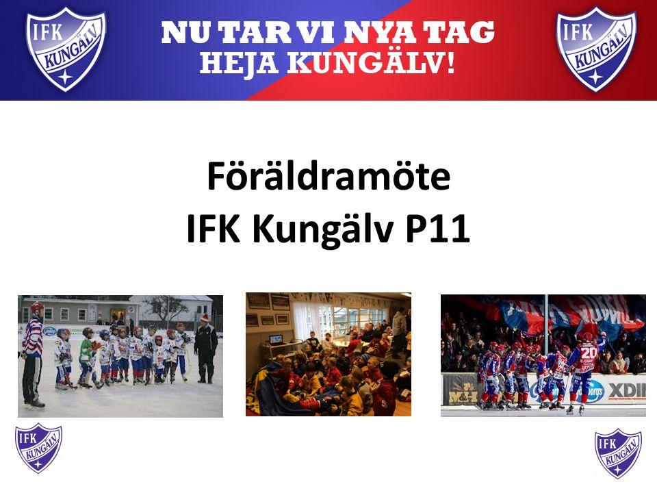 Föräldramöte IFK Kungälv P11