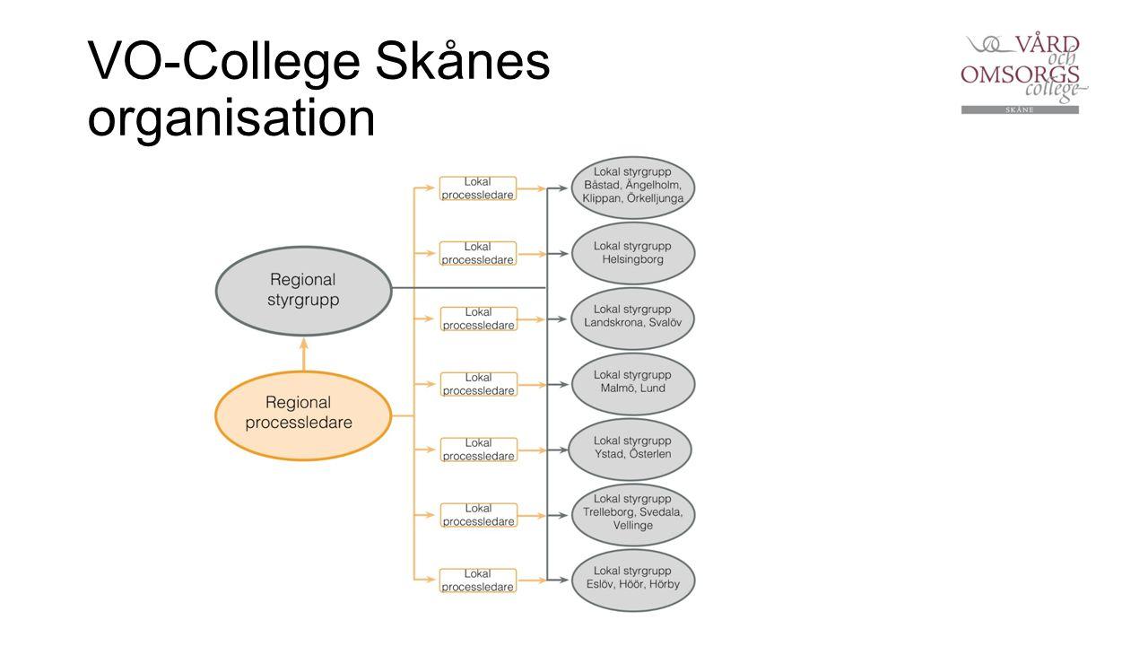 VO-College Skånes organisation