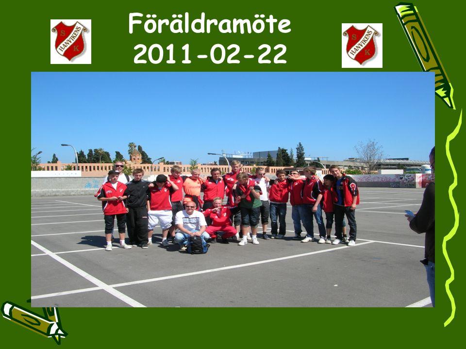 Föräldramöte 2011-02-22