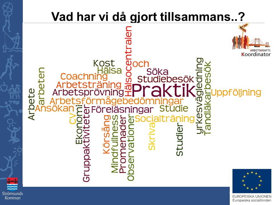 www.stromsund.se Vad har vi då gjort tillsammans..?