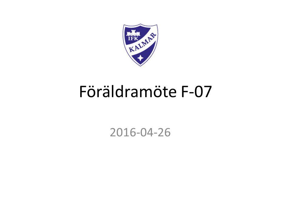 Föräldramöte F-07 2016-04-26