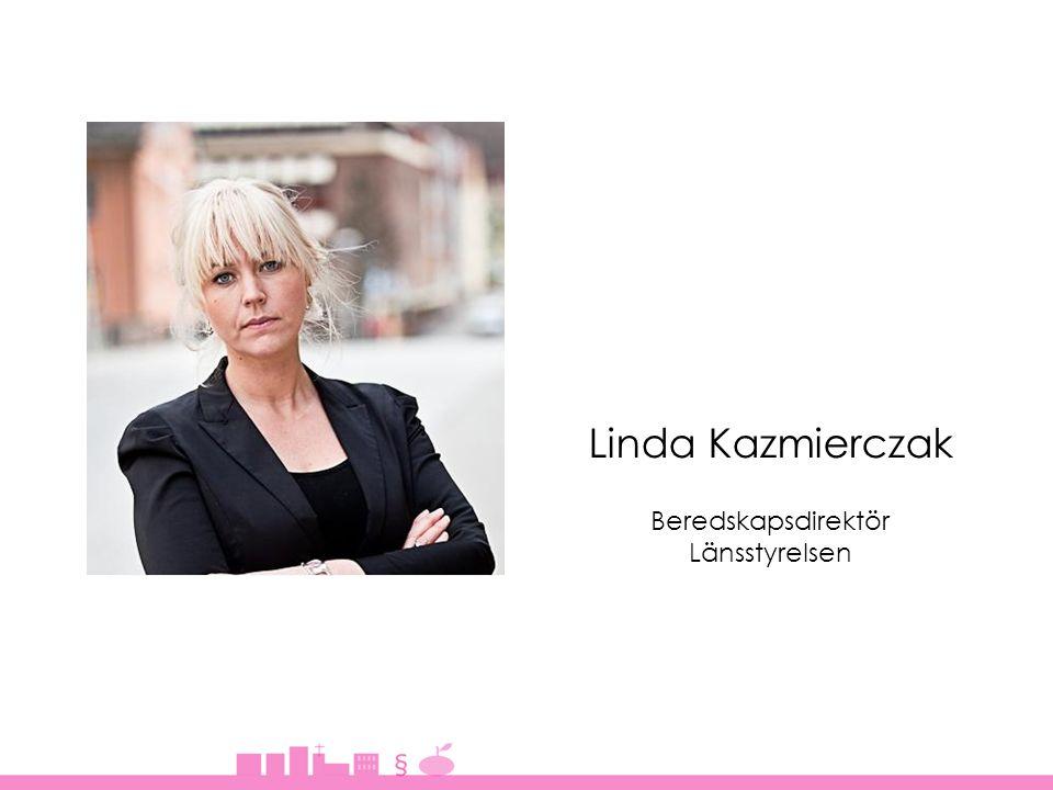 Linda Kazmierczak Beredskapsdirektör Länsstyrelsen