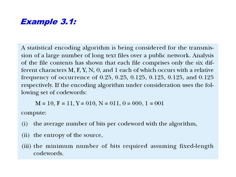 Språkets entropi. Exempel: Om det engelska alfabetets 26 bokstäver vore lika vanliga blir entropin per bokstav: Men, den verkliga entropin i det engel