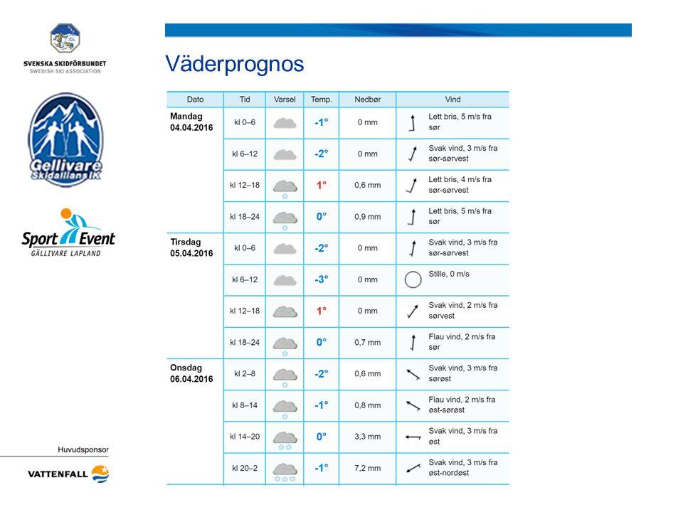 Information om nummerlappar och lottning Hämtas föreningsvis i tävlingsexpeditionen på Hellnerstadion från 15.00.
