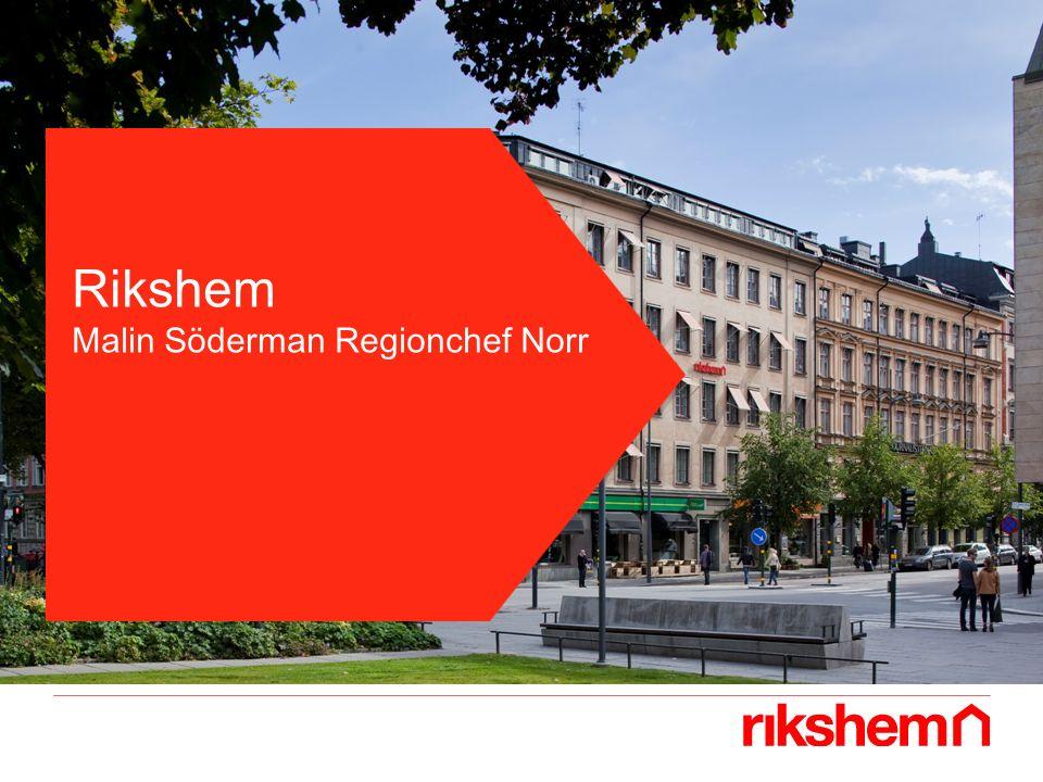 Rikshem Malin Söderman Regionchef Norr