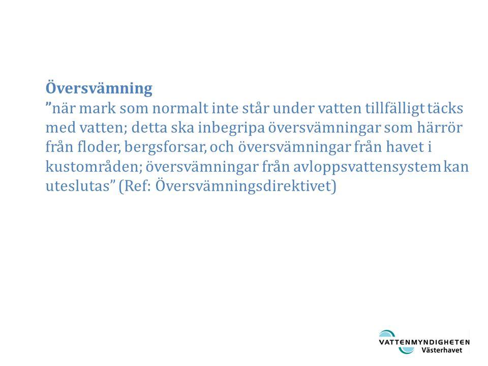 Diffusa åtgärder Omforma landskapet Erosionsskydd Åtgärder för att dämpa avrinningen Öka infiltrationen Åtgärder i stadsmiljöer Lokala åtgärder Invallning Utjämningsmagasin, dammar Avledningar Rensningar Ökad dränering Strukturella åtgärderAnpassningsåtgärder Regleringar Zonering Översiktsplanering Beredskapsåtgärder Förvarningssystem Varningssystem Beredskapsåtgärder Evakuering Omförflyttning Försäkringar Statliga Privata Åtgärder vid översvämningsrisk Efter: Petry 2002