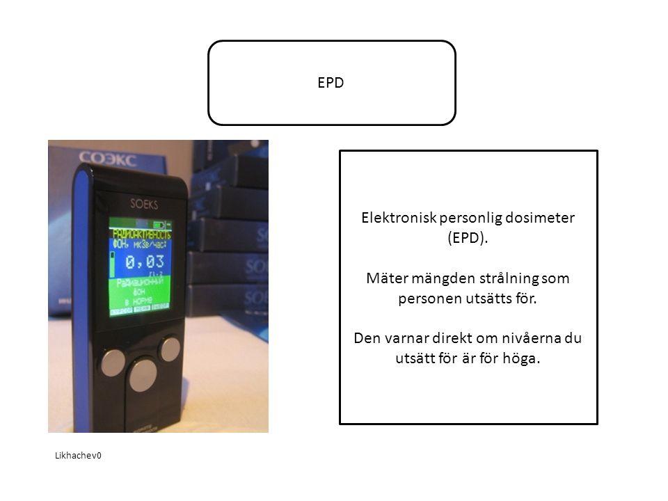 EPD Likhachev0 Elektronisk personlig dosimeter (EPD).