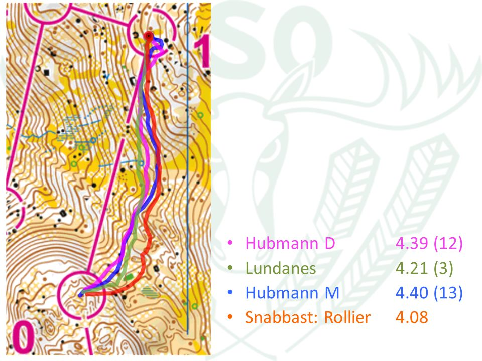 Hubmann D4.39 (12) Lundanes4.21 (3) Hubmann M4.40 (13) Snabbast: Rollier4.08